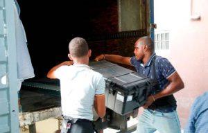 JCE dice ha distribuido el 73 % de las valijas que se usarán en las primarias