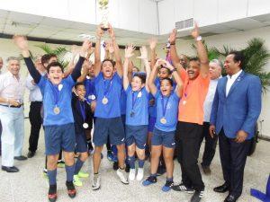 Naco se corona campeón del Torneo Invitacional de Futsala