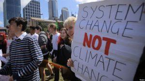 Protesta global para exigir acciones que frenen el cambio climático