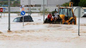 ESPAÑA: Cinco muertos muertos por la gota fría