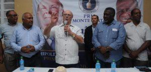 Hipólito promete rehabilitar Monte Plata; impulsar jóvenes y mujeres