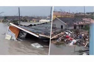 Diplomáticos haitianos asisten a víctimas de huracán Dorian