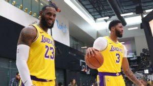 Los Angeles Lakers en la mira del campeonato de la NBA