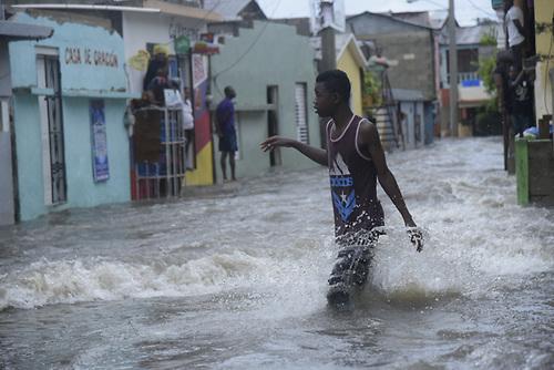 Lluvias han causado al menos dos muertes e inundaciones en el Cibao