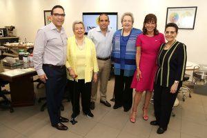 Embajadora de los EEUU visita instalaciones de Industrias Banilejas