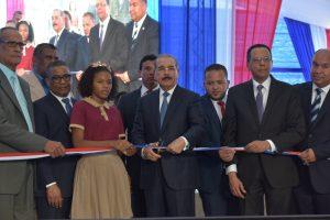 SAMANA: Presidente Danilo Medina entrega nuevo liceo tanda extendida