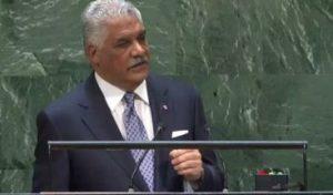 Canciller de R. Dominicana insta a la ONU a evitar la brecha digital