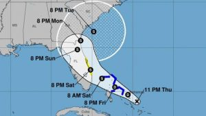 EE.UU: Un potencial ciclón continúa avanzando hacia Florida