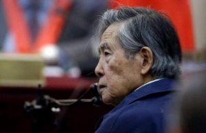 PERU: Nuevo recurso ante el TC busca la libertad de Fujimori