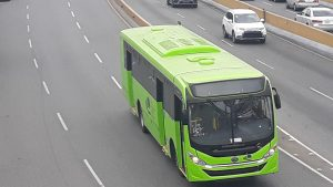 Llegan a la OMSA autobuses que reforzarán Corredor 27 de Febrero