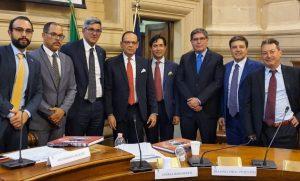 ITALIA: Abogados de la RD firman convenio con la Orden de Roma