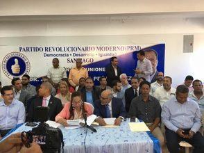 PRM presenta comité provincial de Santiago de los Caballeros