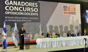 Ministerio de Educación recibe mas de seis mil nuevos docentes