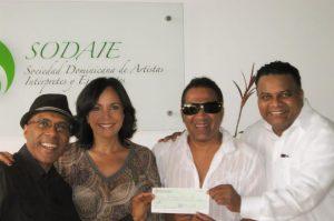 Artistas dominicanos reciben $12.1 millones en pago de derechos