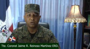 Coronel Ejército de la R. Dominicana crea movimiento en apoyo a Gonzalo