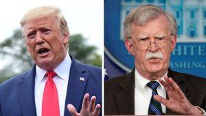 Trump dice que Bolton se «pasó de la raya» en la política hacia Venezuela