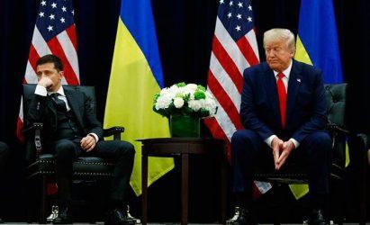 Presidente de Ucrania niega haber presionado por instrucción de Trump