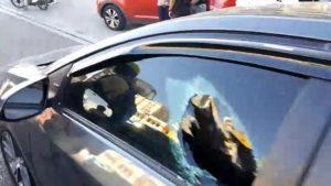 Pareja de venezolanos resulta herida de bala en la avenida 27 de Febrero