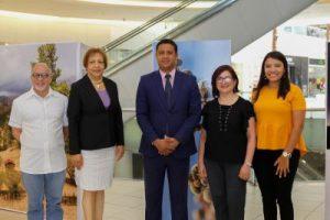 """ITSC y Ágora Mall presentan exposición """"El Paisaje Dominicano"""""""