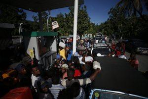 Arden barricadas por protestas en Haití