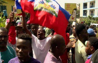Haití abre quinta semana de protestas en contra del gobierno
