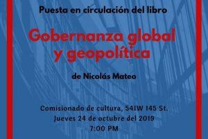 Periodista Nicolás Mateo pondrá en circulación obra