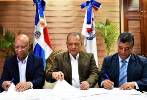 CORAASAN, APEDI y FAYN firman convenio educativo para el agua potable