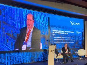Felipe Vicini ve invertir en deporte y educación impulsa el desarrollo