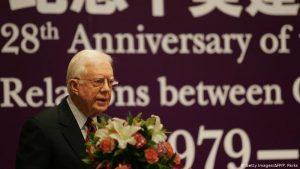 EEUU: Expresidente Jimmy Carter se fractura la pelvis al caerse en casa