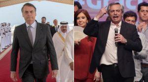 """BRASIL: Jail Bolsonaro dice que Argentina hizo una """"mala elección"""""""