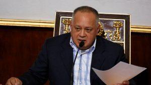 VENEZUELA: Cabello asegura equipo de Guaidó quiere volver a dialogar