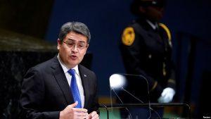 Fiscales de EE.UU. acusan a presidente de Honduras de tráfico de drogas