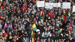 BOLIVIA: Cómputo final da triunfo a Evo mientras aumentan protestas