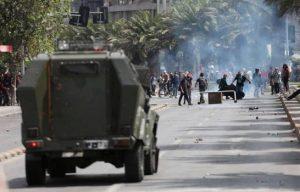 CHILE:  Toque de queda se extiende a la capital, Valparaíso y Concepción