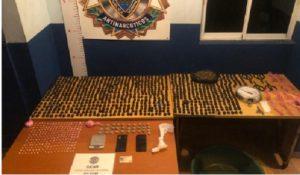 PN detiene a 208 personas durante acciones anti drogas en 14 ciudades