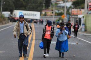 ECUADOR: Indígenas suben tensión en medio de control a precios por protestas