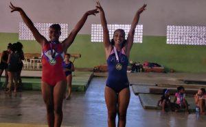 Berroa y Peguero ganan oro torneo gimnasia artística Agisapema