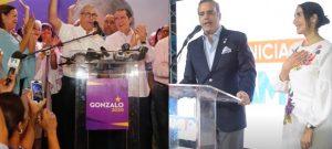 Gonzalo y Luis Abinader ganaron las primarias PLD y PRM, según la Junta