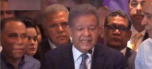 Leonel F. no acepta resultados de primarias; ve alteraron el sistema