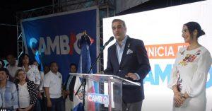 Abinader proclama: «Hoy se inicia el cambio» en la República Dominicana