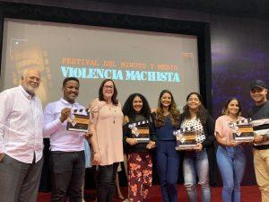 MMujer entrega Premios Festival Minuto y Medio Violencia Machista