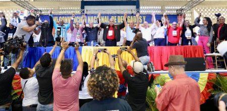 Partidos aliados al PLD proclaman a Gonzalo su candidato presidencial