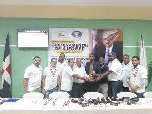 Banco de Reservas gana Copa Gubernamental de Ajedrez