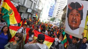 BOLIVIA: Miles se manifiestaron este sábado en mayoría regiones del país