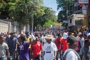 Maestros movilizados en Haití en debut de sexta semana de protestas