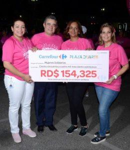 Carrefour realiza segunda versión del Zumbathon contra el cáncer