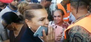 Sonia Mateo amenazó con llamar a Palacio si no sacaban coronel de recinto
