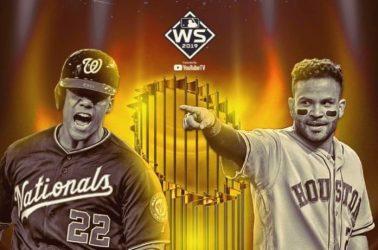 Astros son favoritos ante Nacionales para ganar Serie Mundial
