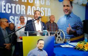 BONAO: Cantante Héctor Acosta inaugura comando de campaña