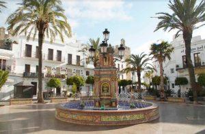ESPAÑA: Presencia de Duarte en Vejer de la Frontera, Andalucía